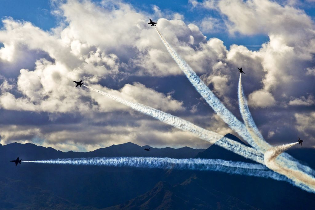 military airshow